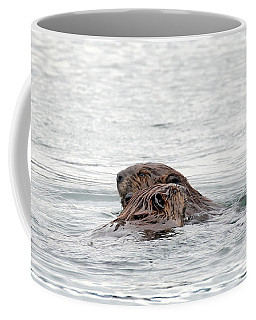 Beavers Snuggling Coffee Mug