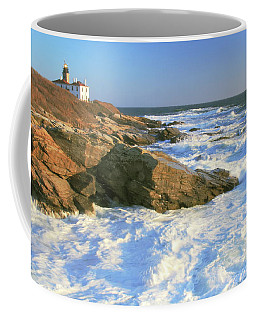 Beavertail Point And Lighthouse  Coffee Mug