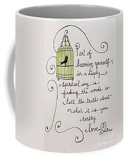 Becoming Yourself Coffee Mug