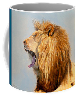 Bed Head - Lion Coffee Mug