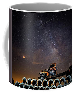 Sleeping Alone Under The Stars  Coffee Mug