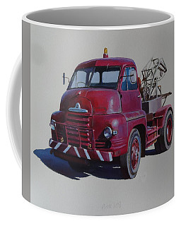 Bedford S Type Wrecker. Coffee Mug by Mike  Jeffries