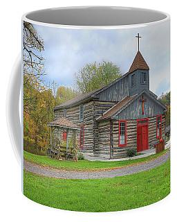 Bedford Village Church Coffee Mug by Sharon Batdorf