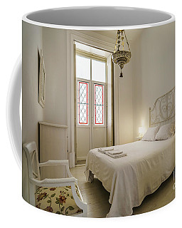 Coffee Mug featuring the photograph Bedroom Apartment In The Heart Of Cadiz by Pablo Avanzini