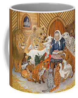 Bedtime Story On The Ark Coffee Mug