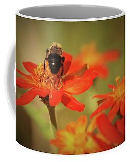 Bee And Flower IIi Coffee Mug