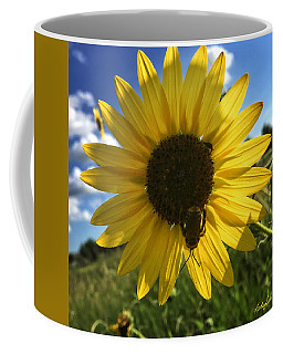 Bee And Sunflower Coffee Mug