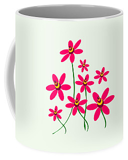 Bee Flowers Coffee Mug