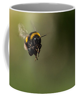 Bee Flying - View From Front Coffee Mug