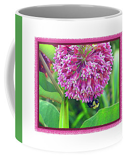 Bee Hanging On Coffee Mug