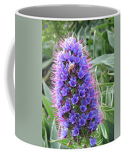Bee On Blue Coffee Mug