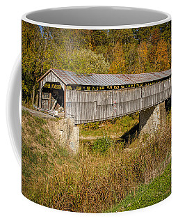 Beech Fork Or Mooresville Covered Bridge Coffee Mug