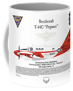 Beechcraft T-44c Pegasus Coffee Mug