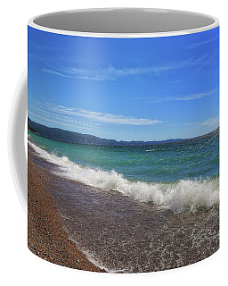 Coffee Mug featuring the photograph Been Thinkin About You by Rachel Cohen