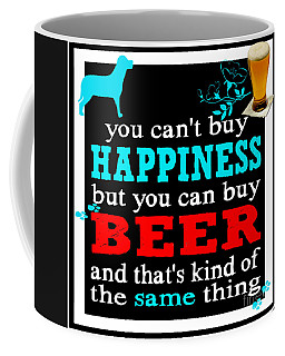 Beer And Happiness Coffee Mug