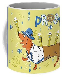 Beer Dachshund Dog Coffee Mug