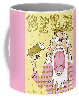 Beer King Coffee Mug