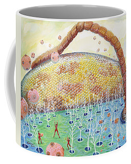 Bee's Eye And Antenna Coffee Mug