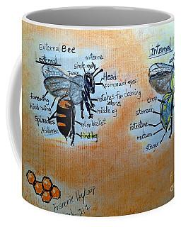 Bees  Coffee Mug by Francine Heykoop
