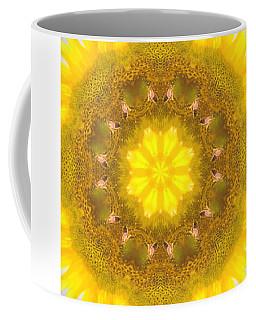 Bees Kaleidoscope Coffee Mug