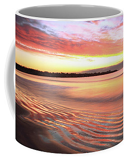 Before Sunrise At First Beach Coffee Mug by Roupen  Baker