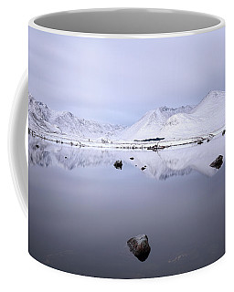 Coffee Mug featuring the photograph Before Sunrise, Glencoe by Grant Glendinning