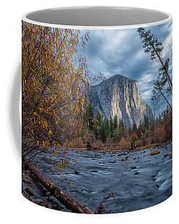 Coffee Mug featuring the photograph Before Winter Storm by Jonathan Nguyen