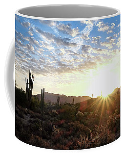 Coffee Mug featuring the photograph Beginning A New Day by Monte Stevens