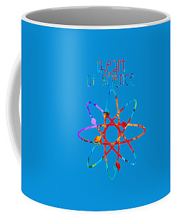Coffee Mug featuring the painting Beginnings Abstract by Nikki Marie Smith
