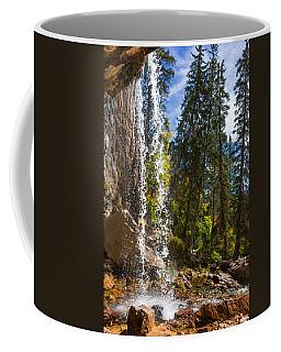 Behind Spouting Rock Waterfall - Hanging Lake - Glenwood Canyon Colorado Coffee Mug