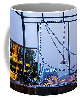 City Behind The Chains Coffee Mug