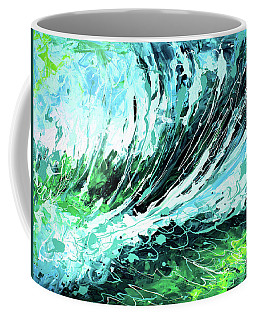 Behind The Curtain Coffee Mug