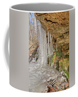 Behind The Ice Coffee Mug