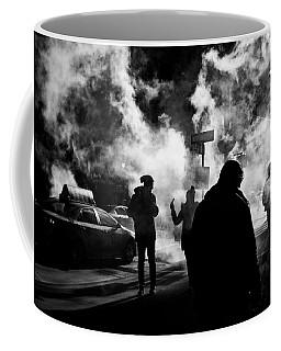 Behind The Smoke Coffee Mug