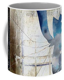 Behind The Window Coffee Mug by Michal Boubin