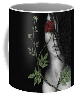 Behind What Beholds The Eye Coffee Mug by Pat Erickson
