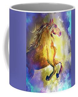 Behold The Golden Stallion Coffee Mug