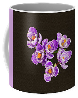 Behold, Tis The Season Of Crocus.  Coffee Mug by Bijan Pirnia