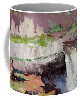 Beholding Palouse Falls Coffee Mug