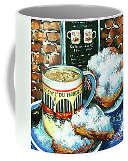 Beignets And Cafe Au Lait Coffee Mug