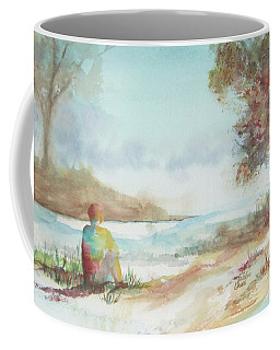 Being Here Coffee Mug