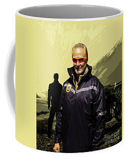 Coffee Mug featuring the photograph Being In The Movie IIi by Al Bourassa