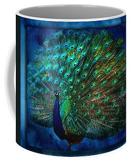 Being Yourself - Peacock Art Coffee Mug