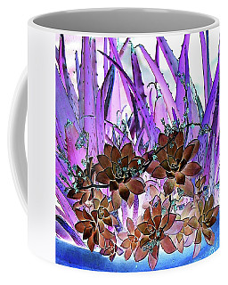 Bejeweled Succulents Coffee Mug by Ellen O'Reilly