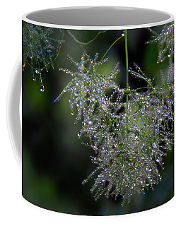 Bejewelled Smoke Coffee Mug by Michael Friedman