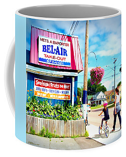 Coffee Mug featuring the photograph Bel Air  by Patricia L Davidson