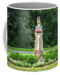 Belarus Roadside Carving Coffee Mug