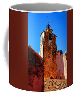 Coffee Mug featuring the photograph Belfry In Provence by Olivier Le Queinec