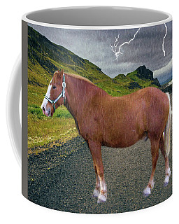 Coffee Mug featuring the photograph Belgian Horse by Ericamaxine Price
