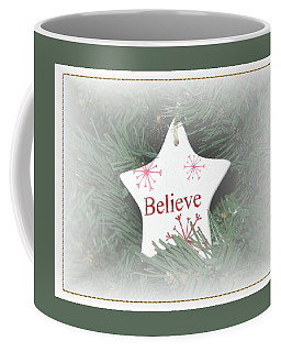 Believe Star Coffee Mug